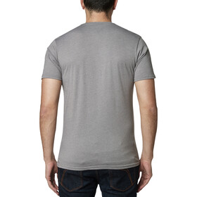 Fox Castr Premium Camiseta Manga Corta Hombre, heather graphite